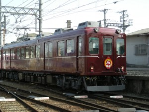 伊賀鉄道旧塗装860系「鹿特急」