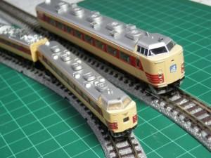 ZJとNゲージ比較 485系