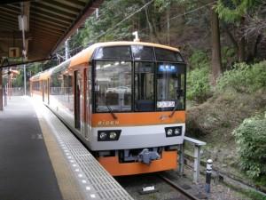 叡電900系きらら メープルオレンジ