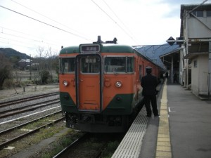 JR草津線 113系