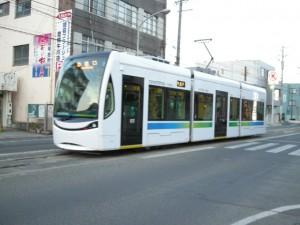 豊電 路面電車 新型車両LRV