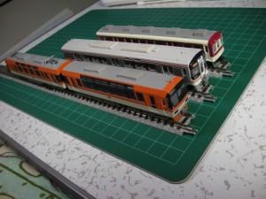Nゲージ 叡山電鉄900系「きらら」、キハ75「快速みえ」、伊賀鉄道860系