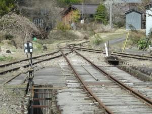 長良川鉄道 北濃駅終点