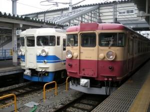 高山本線 富山駅 475系