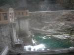 高山本線 車窓からダム