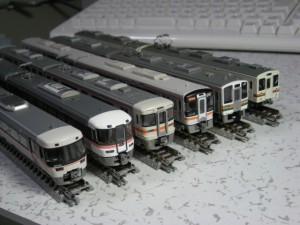 Nゲージ JR東海 383系、373系、313系3000番台、キハ75、213系5000番台、119系