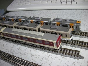 近鉄58210系&阪神1000系