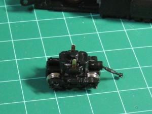 ZJゲージ485系 動力台車