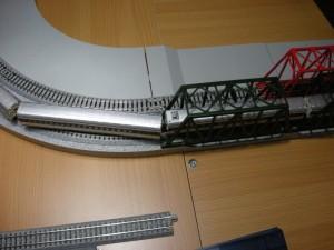 ジオラマレールR281+ユニトラックR249 新幹線0系