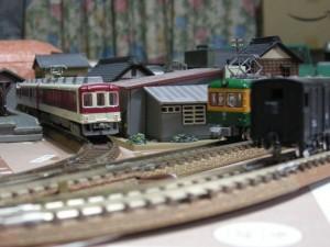 昭和の鉄道模型をつくる。増設ポイントから…