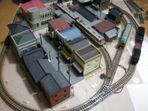 昭和の鉄道模型をつくる。検討中増設配線