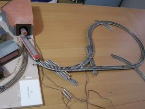 「昭和の鉄道模型をつくる」増設引込み線