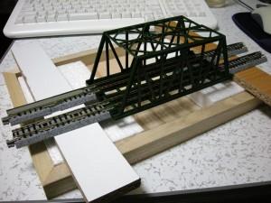 鉄橋1スパン(150mm)の路面モジュールオルタネート準拠?