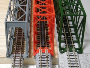 各社単線トラス鉄橋の比較