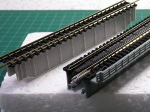 GM架道橋、KATO単線デッキガーダー
