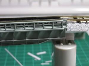 KATO単線デッキガーダーの改造