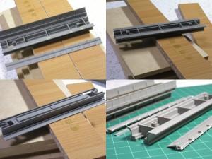 コンクリート橋のお手軽作成(KATO高架レール改造)