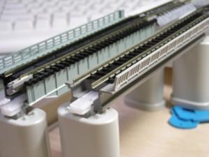 コンクリート橋をA4パネルに仮配置