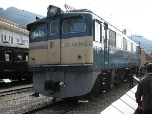 佐久間レールパークフィナーレイベント ED62