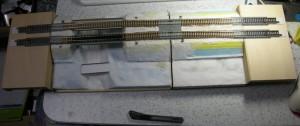 複線直線モジュール、TOMIX規格向け接続フォーメーション