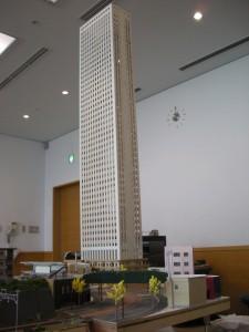 モジュール運転会、高層ビル48階