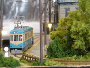 モジュール運転会、狭幅路面電車