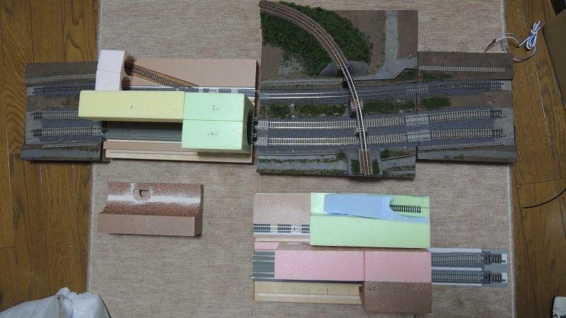 桑名モジュールとトンネル駅の組合せ