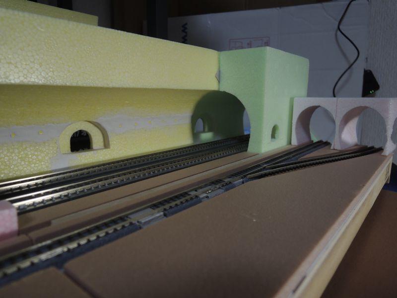 トンネル本坑と作業坑